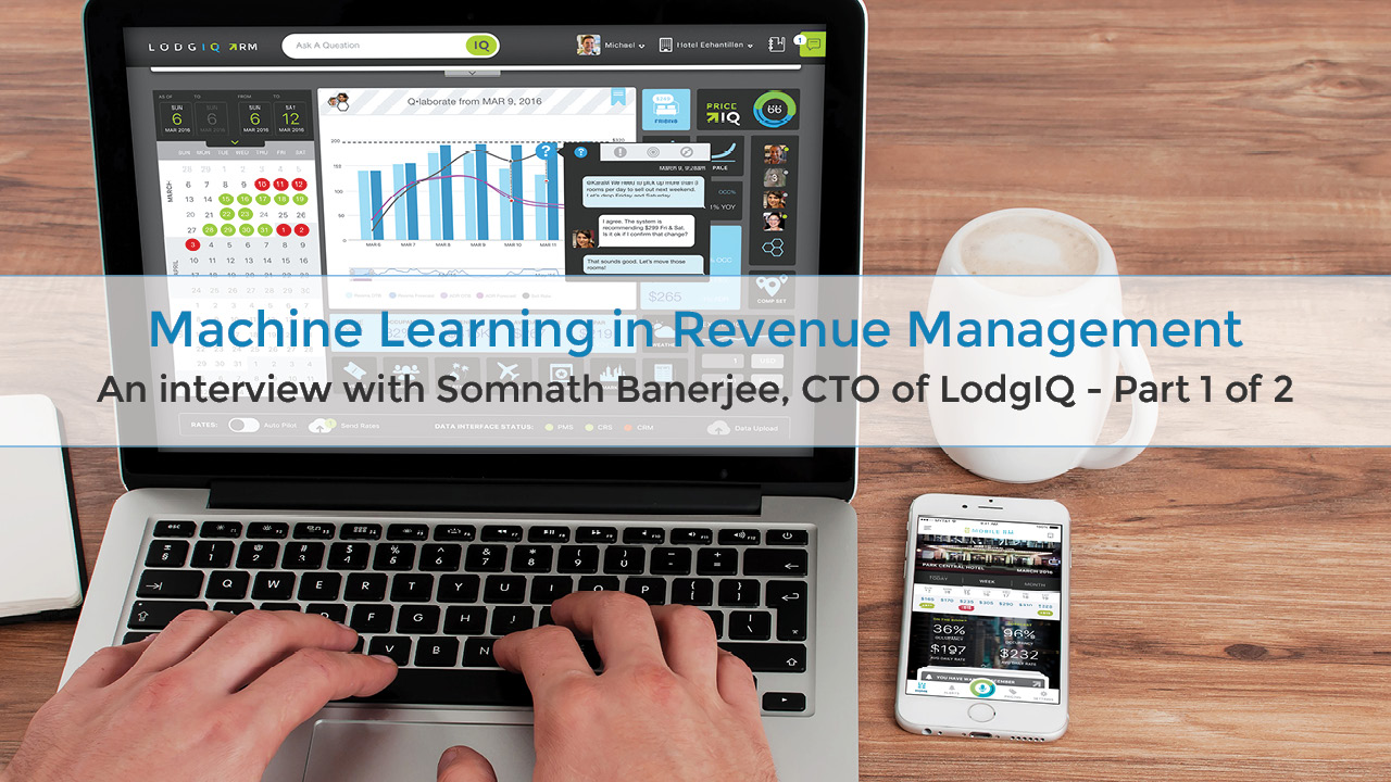Machine learning in revenue management