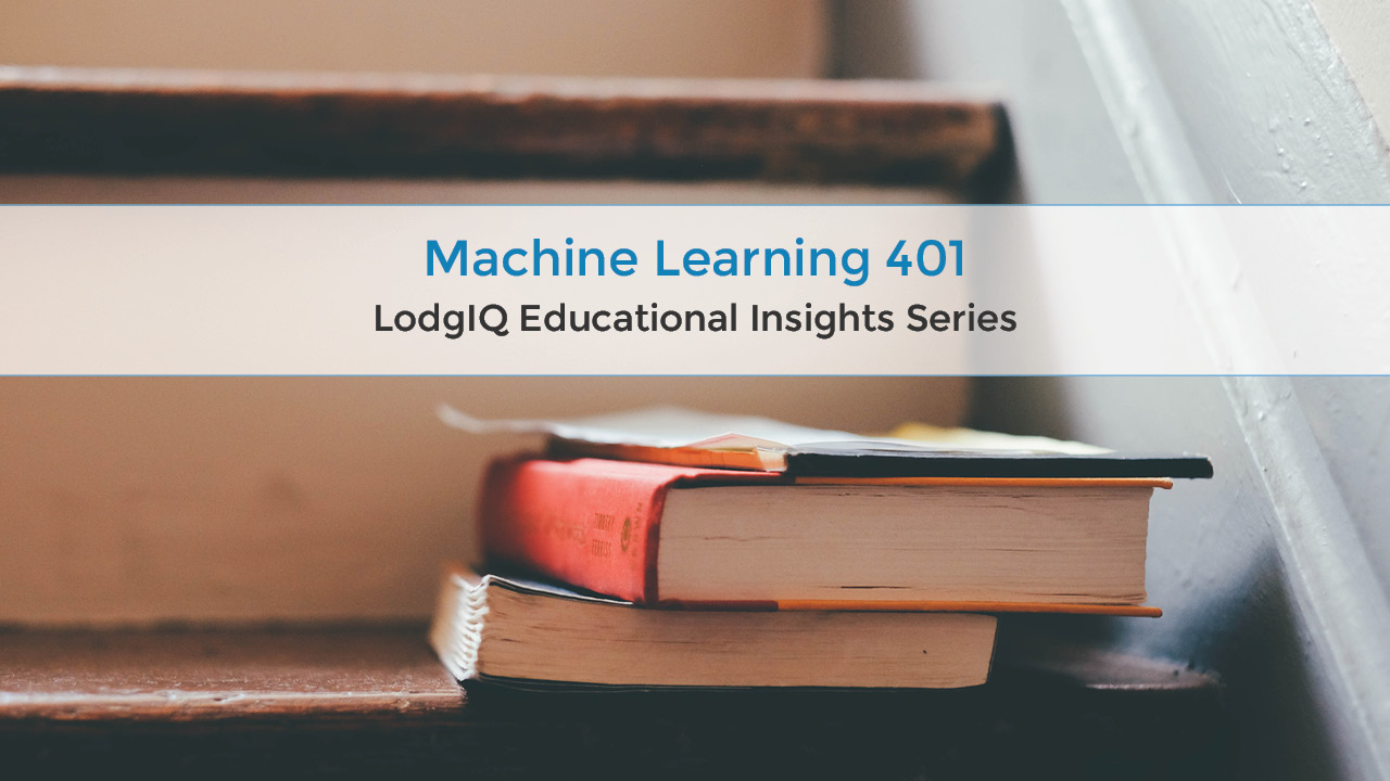 Machine learning 401